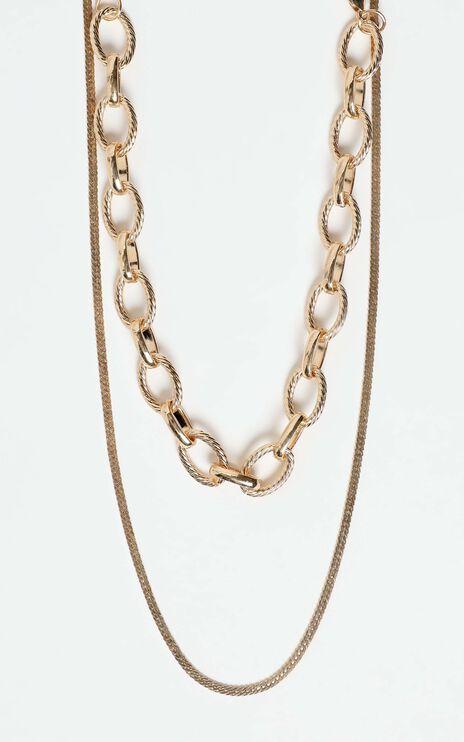 Abilene Necklace in Gold