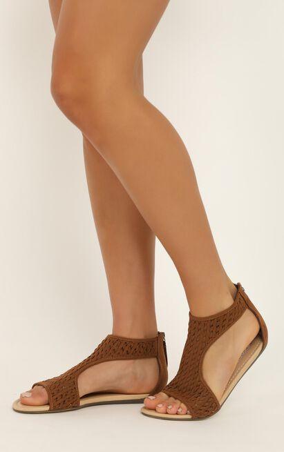 Therapy - La Boca Sandals in tan micro - 9, Tan, hi-res image number null