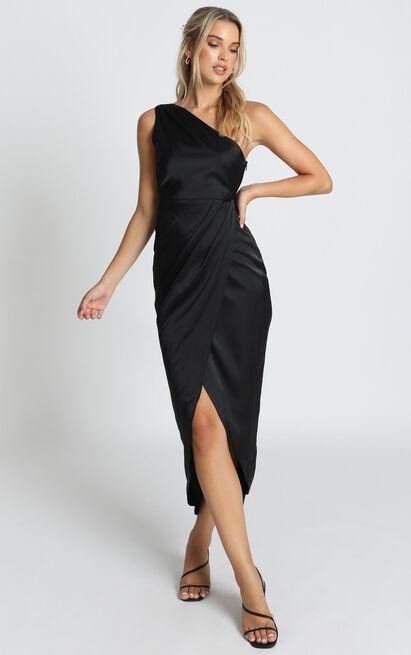 Felt So Happy Dress in black - 14 (XL), Black, hi-res image number null