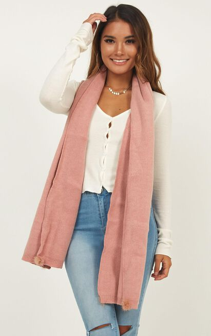 Together Tonight Scarf In Blush, Blush, hi-res image number null