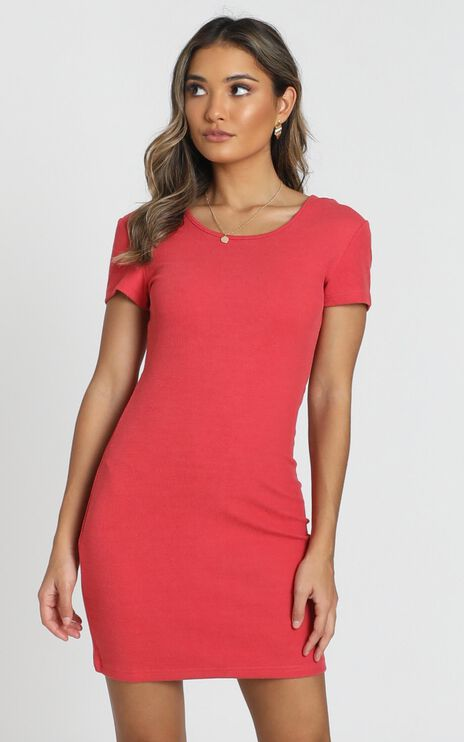 Love Songs Dress In Coral