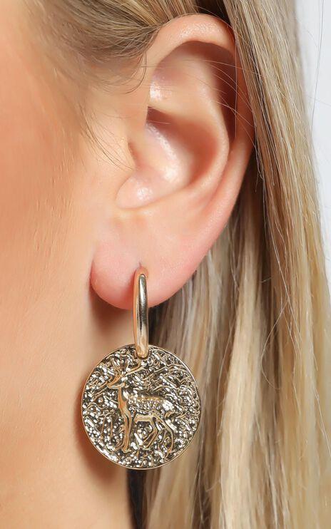 Ellie Earrings in Gold