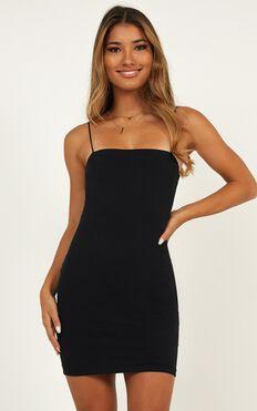 Make You Mine Dress In Black