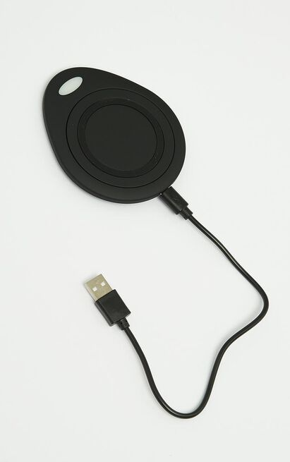 Wireless Charging Dock In Black, Black, hi-res image number null