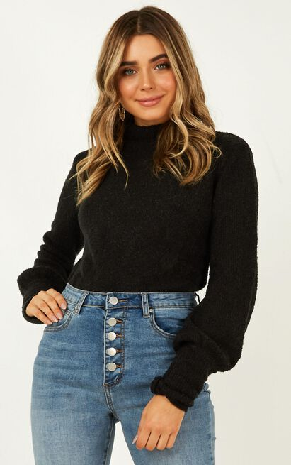Dreaming of Warmth Knit jumper in black - 16 (XXL), Black, hi-res image number null