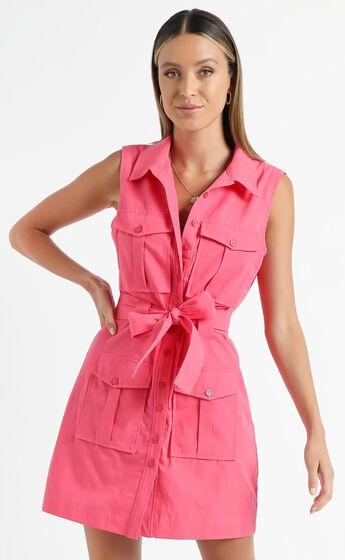 Turbina Dress in Pink