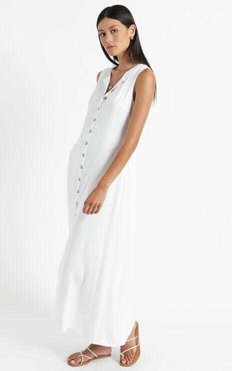 Izmir Midi Dress in White