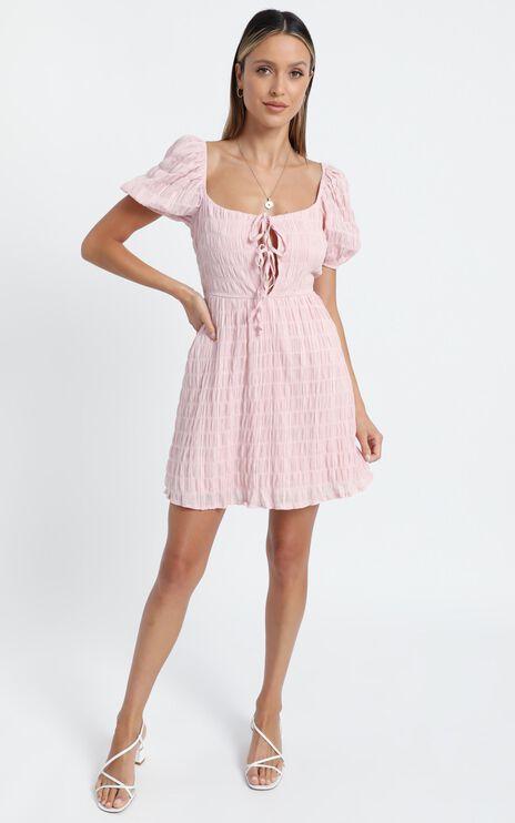 Mirabella Dress in Blush