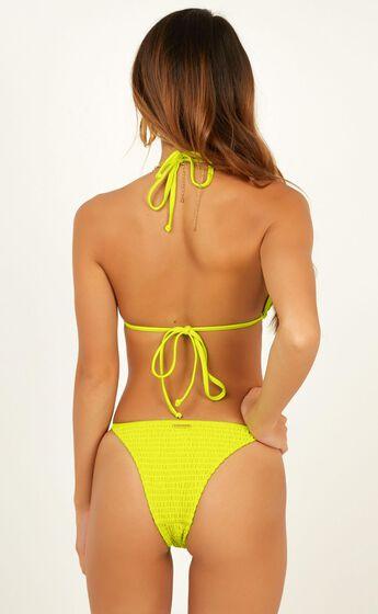 Kym Bikini Bottom In Lime