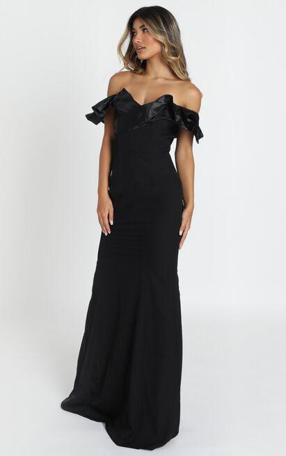 Madelyn maxi dress in black - 12 (L), Black, hi-res image number null