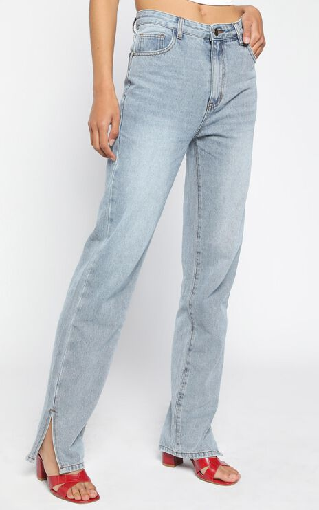 Lioness - Alabama Jeans in Light Denim