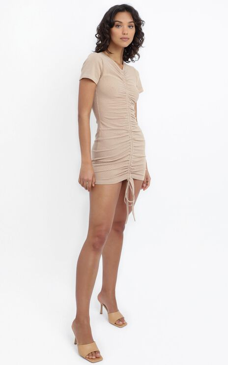 Eliza Dress in Beige