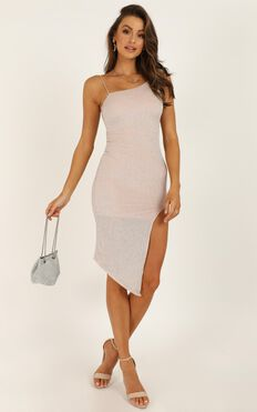 Extraordinary Destiny Dress In Blush