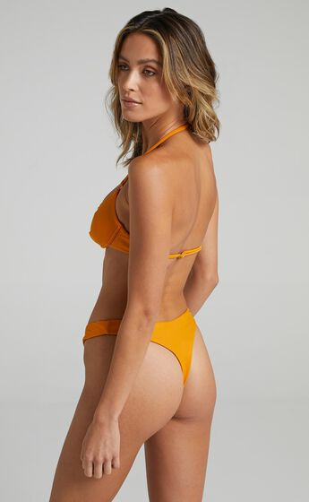 Twiin - New Era Low V Bikini Bottoms in Sunset