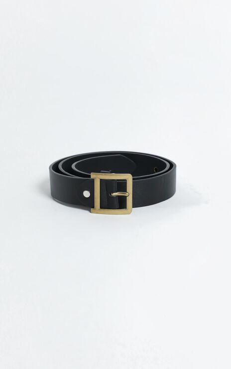 Stay Cool Belt in Black/Gold