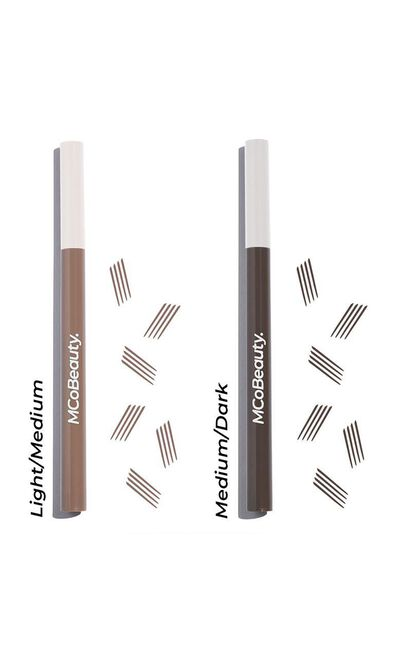 MCoBeauty - Tattoo Eyebrow Microblading Ink Pen in Light/Medium, , hi-res image number null