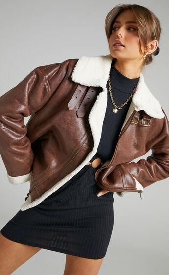 Lioness - Heiress Jacket in Brown