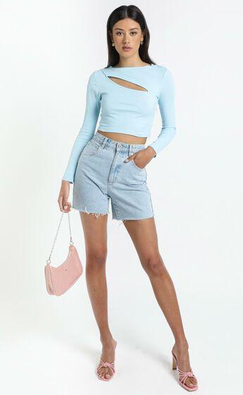 Leonie Top in Blue