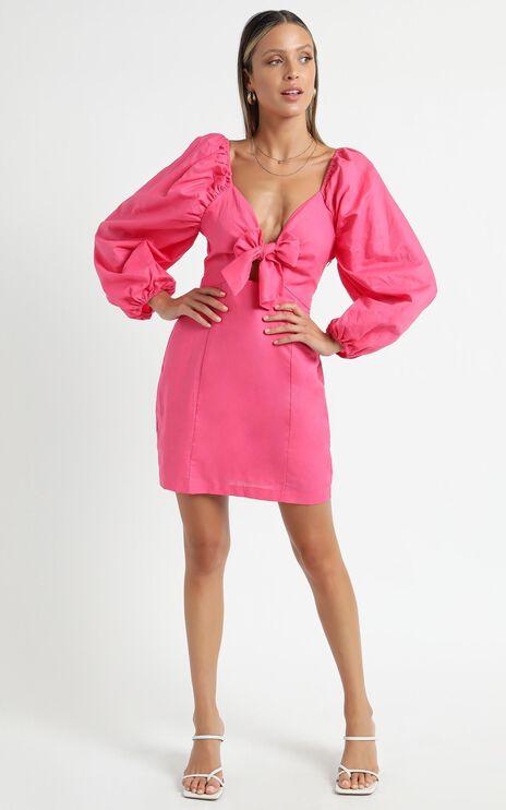 Minkpink - Aubrey Mini Dress in Hot Pink