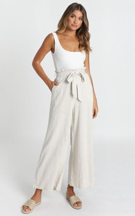 Material Girl Pants In Beige