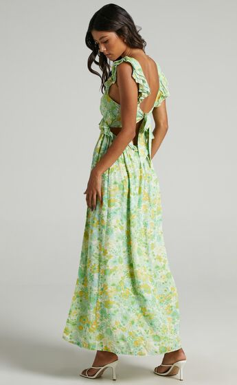 Murcia Dress in Fresh Floral
