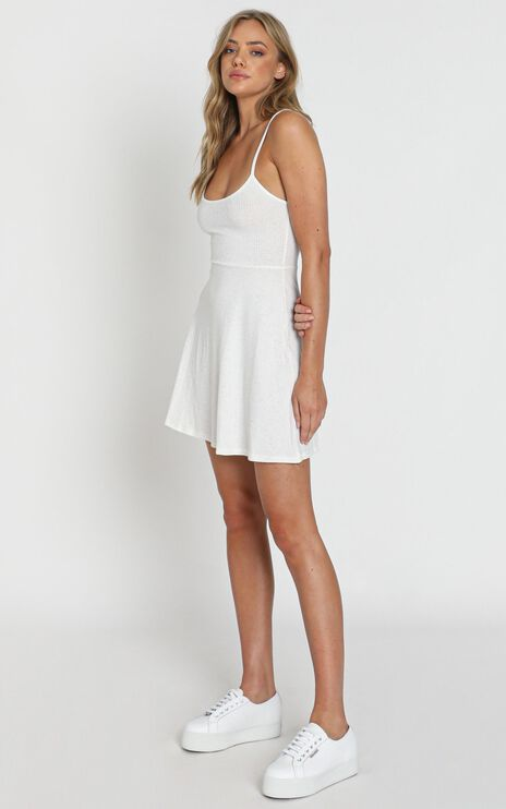 About Your Dreams Dress In White Marle