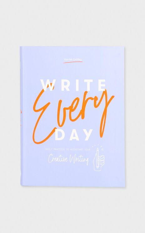 Write Every Day Book Purple