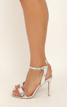 Billini - Tahnee Heels In Silver Metallic