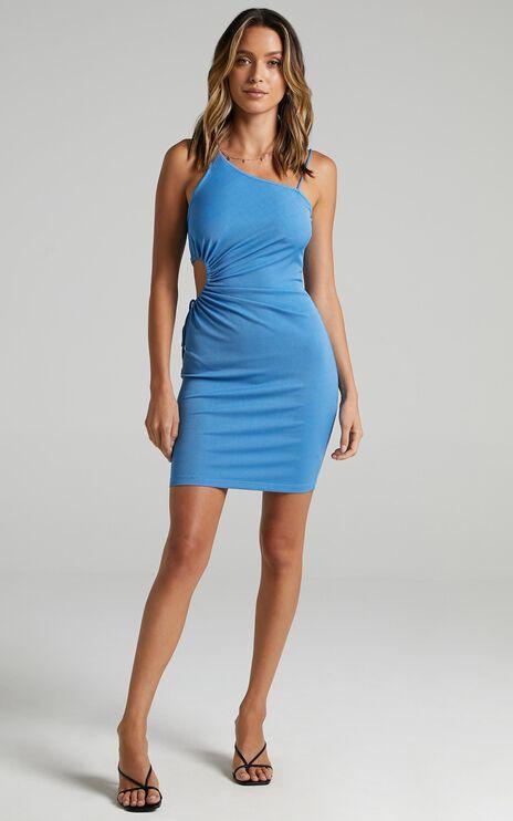 Hola Dress In Blue