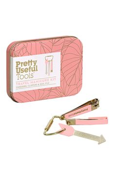 Pretty Useful Tools: Travel Manicure Kit - Sunset Pink