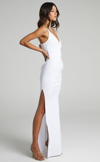 Linking Love Maxi Dress in White