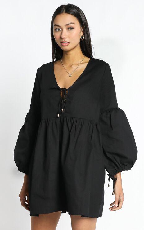 Zya The Label - Marigold Dress in Black