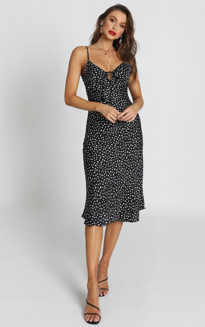 Full Control Dress in navy spot - 6 (XS), Navy, hi-res image number null