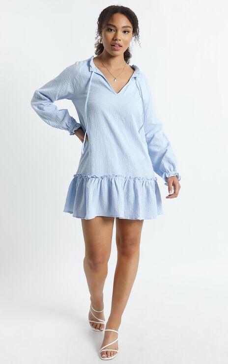 Mari Dress in Blue
