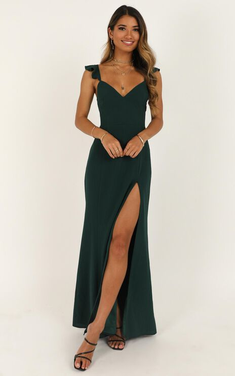 More Than This Dress In Emerald