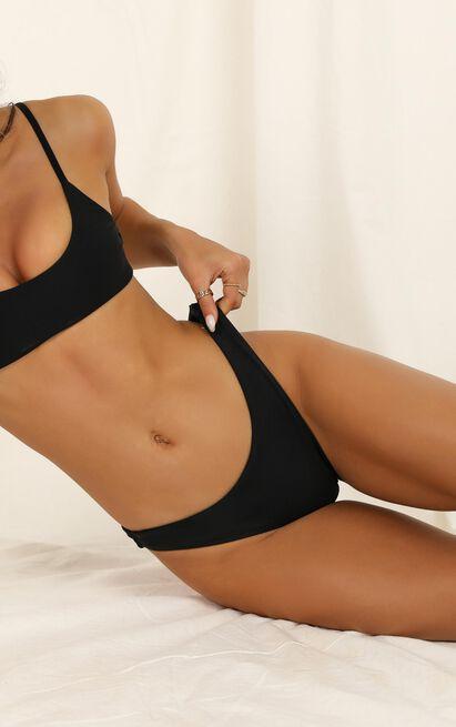 Lilah Bikini Bottoms in black - 20 (XXXXL), Black, hi-res image number null
