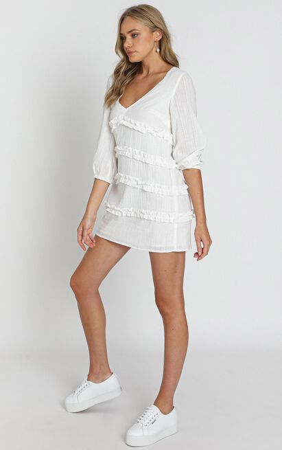 Sweetest Cheer Dress in white - 20 (XXXXL), White, hi-res image number null