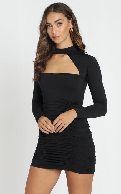 Bad Touch Dress in black - 12 (L), Black, hi-res image number null
