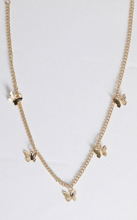 Biggest Opportunity Necklace in Gold