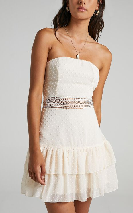 Janelle Dress in Cream