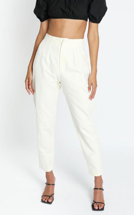 Delphine Pants in Cream