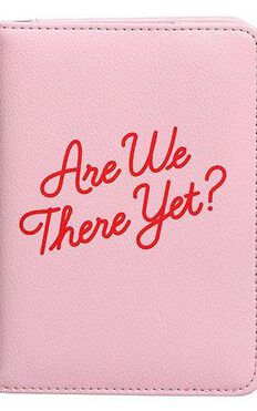 YES Studio: Passport Cover - Are We There Yet?