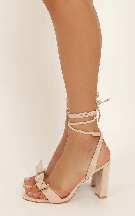 Billini - Granita Heels In Blush Micro