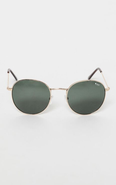 Roc - Knockout Sunglasses in Gold/Khaki