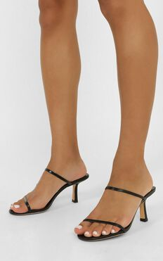 Tony Bianco - Camille Heels In Black Kid