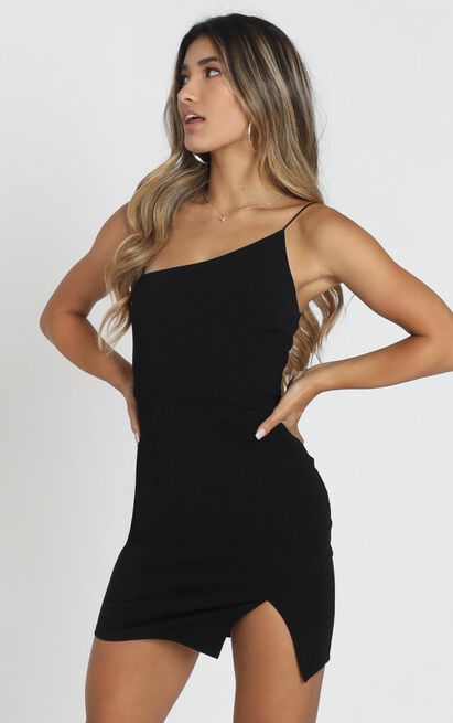 My Whole Heart Dress In Black - 4 (XXS), Black, hi-res image number null