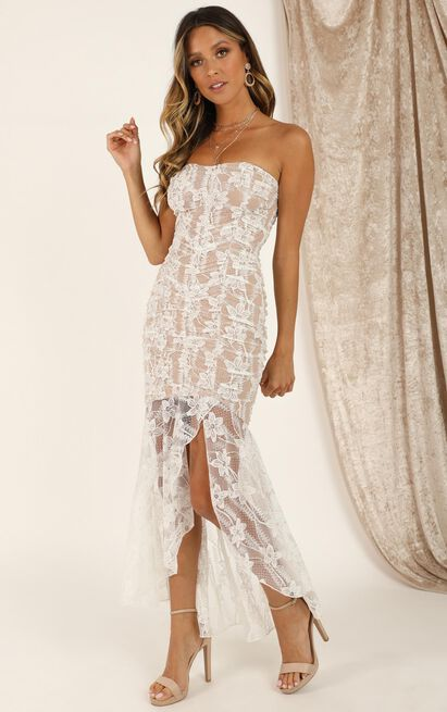 Weekend Vibes Dress in white lace - 20 (XXXXL), White, hi-res image number null