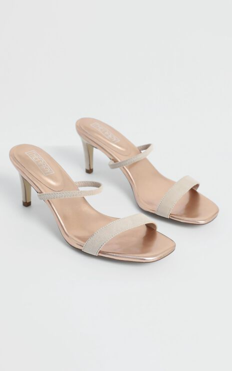 Therapy - Flash Heels in Nude