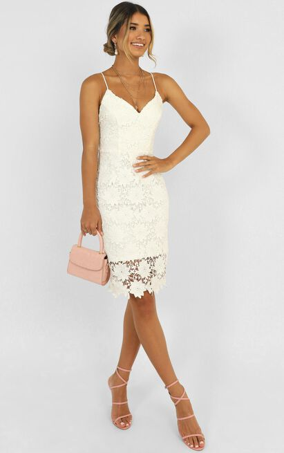 Ive Arrived Dress in white lace - 20 (XXXXL), White, hi-res image number null