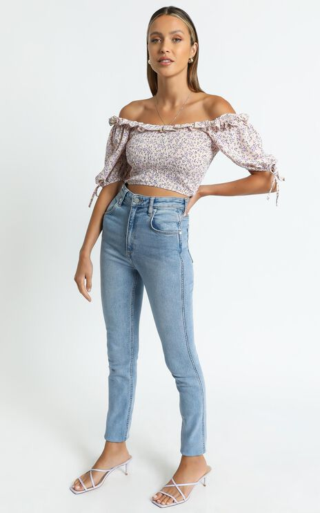 Abaigael Top in Pink Floral